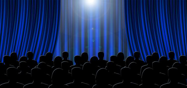 Divadlo, v divadle, diváci