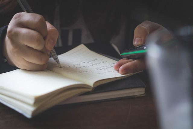 dělat si zápis